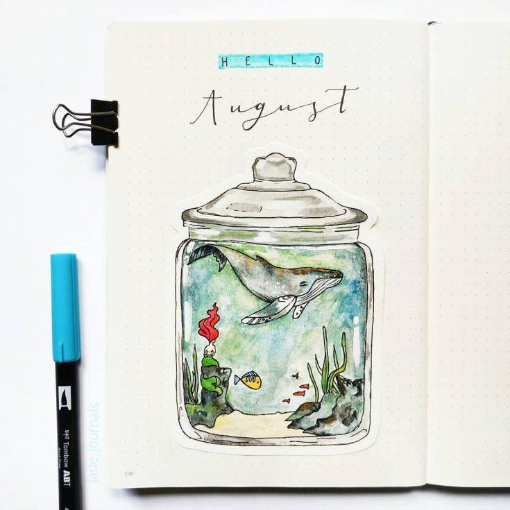 Whale in a Jar