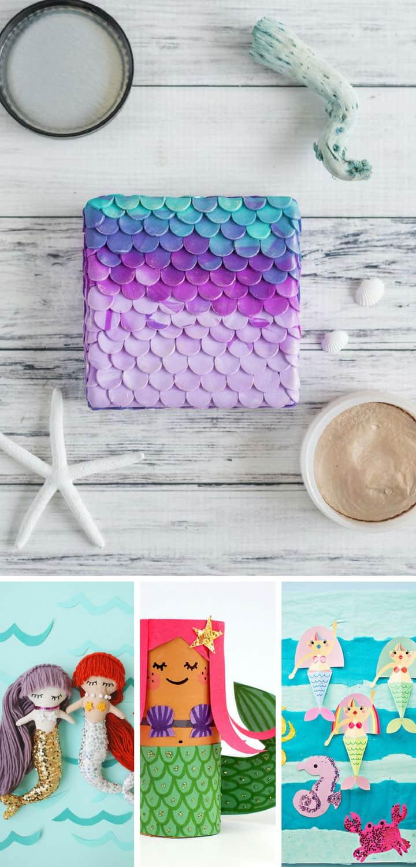 DIY Mermaid Crafts